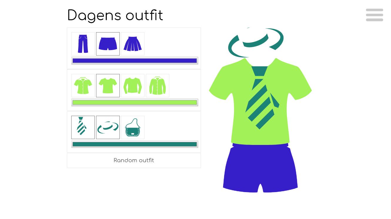 Webbsidan dagens outfit